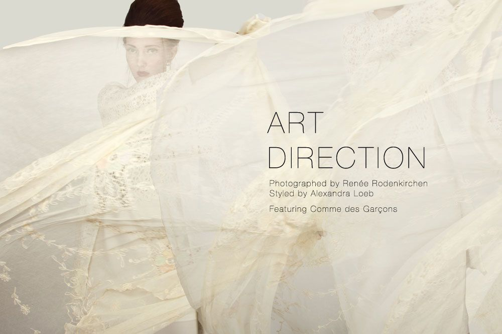 "Lilogi.com - ""Avant Garde"" week, ""Art Direction"" editorial #avantgarde #editorial #white #commedesgarcons #fashion"