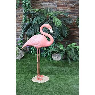 Large Flamingo Statue - Standing