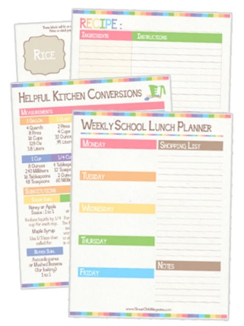 Free Lunch Coupon Template Magnificent Free Back To School Printables  Frugal School And Planners