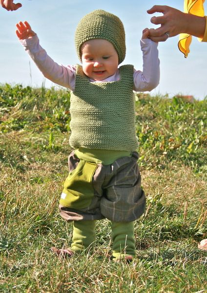 Lorelai Pullunder Handgestrickt Größe 1 3 Jahre Kindersachen