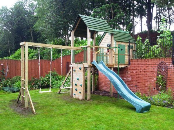 Klettergerüst Garten Bauen : Speziell für kinder: klettergerüst im garten! pinterest
