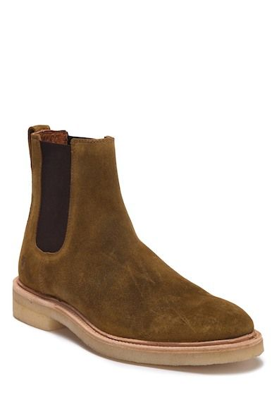 f41f1c515a4 Image of Frye Chris Crepe Suede Chelsea Boot
