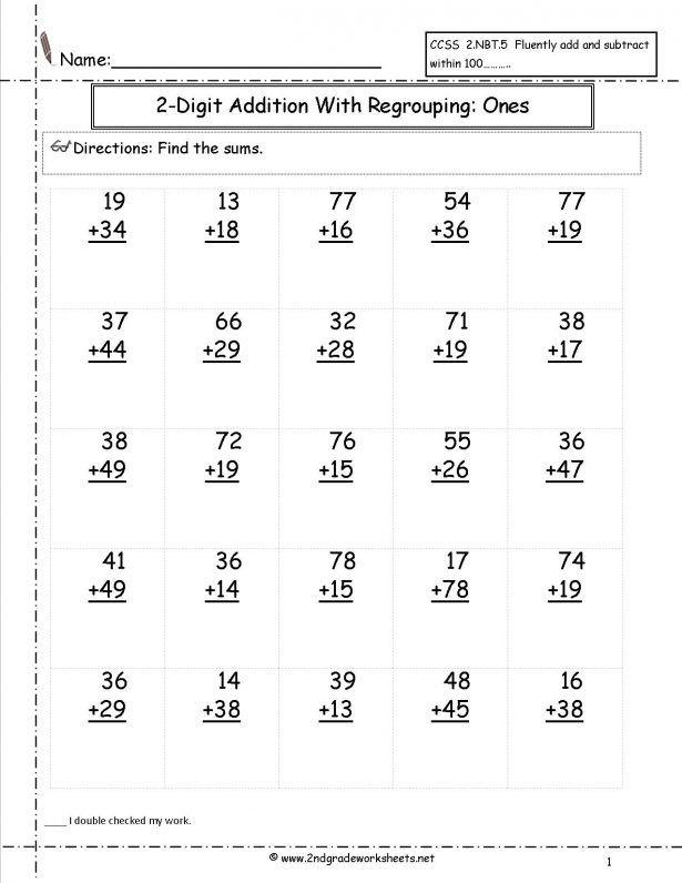 Kids Free Math Worksheets And Printouts ...