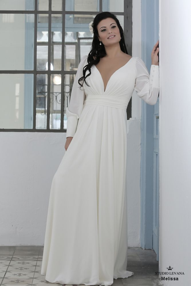 Plus size wedding gown-Blue (1)Melissa (3) | Golf Glam and Sand 12 ...