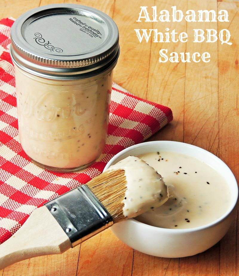 Alabama White BBQ Sauce | Best White bbq sauce, Bbq sauces ...