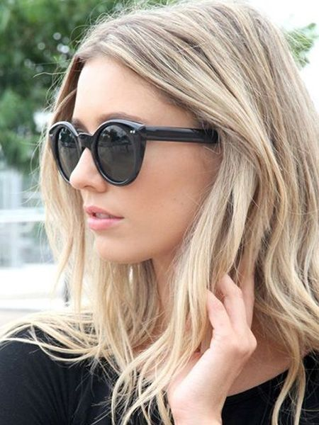 Blonde Mid Length Hairstyles 2016 Google Search Hair Pinterest