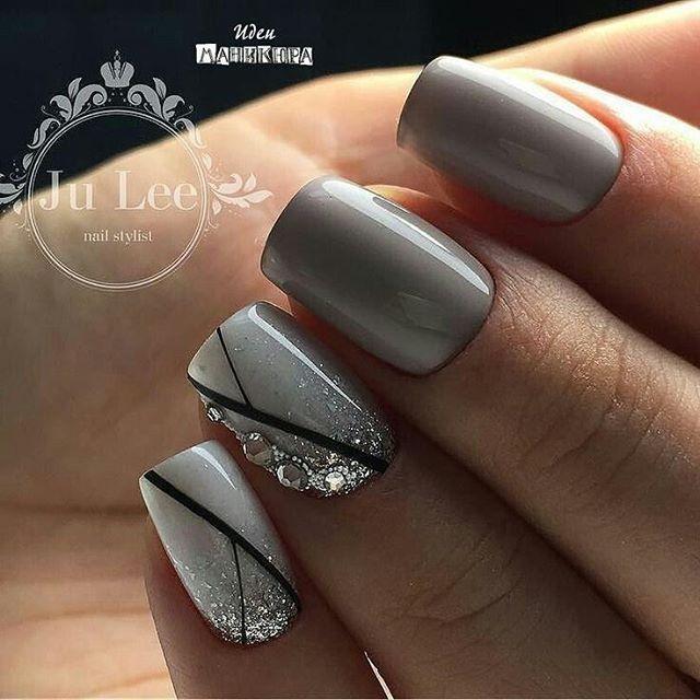 Pretty Mani Inspiration  Credit; Ju Lee Nail stylist.