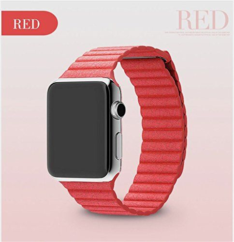 Genuine Leather Loop Watchband for Apple Watch 38Mm 42Mm Leather Loop Band with Magnetic Closure for Iwatch Milanese Loop DMYY http://www.amazon.co.uk/dp/B01AT3QUS8/ref=cm_sw_r_pi_dp_yq77wb1P8MRP4