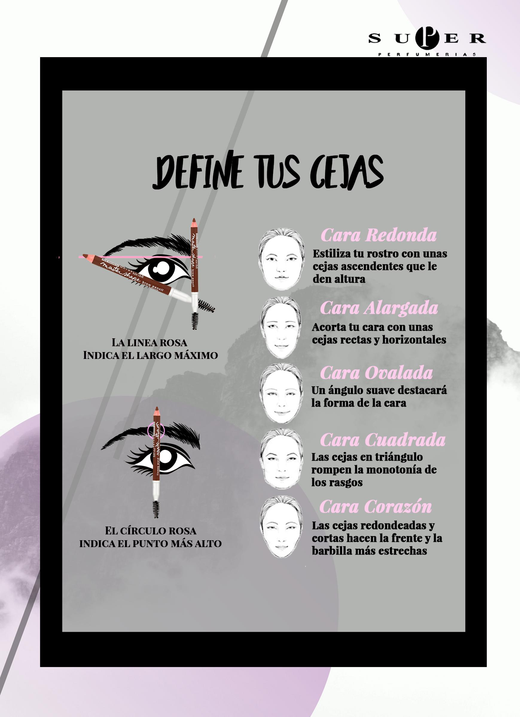 Las cejas son el marco del rostro. Con ellas puedes potenciar tus ...