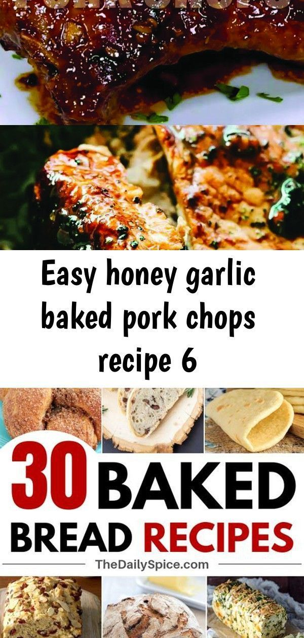 Easy honey garlic baked pork chops recipe 6 Best Quic...  Easy honey garlic baked pork chops recipe
