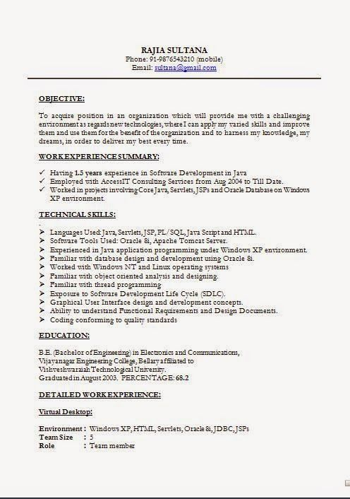 How To Do Resume For Job Application Sample Template Example Of