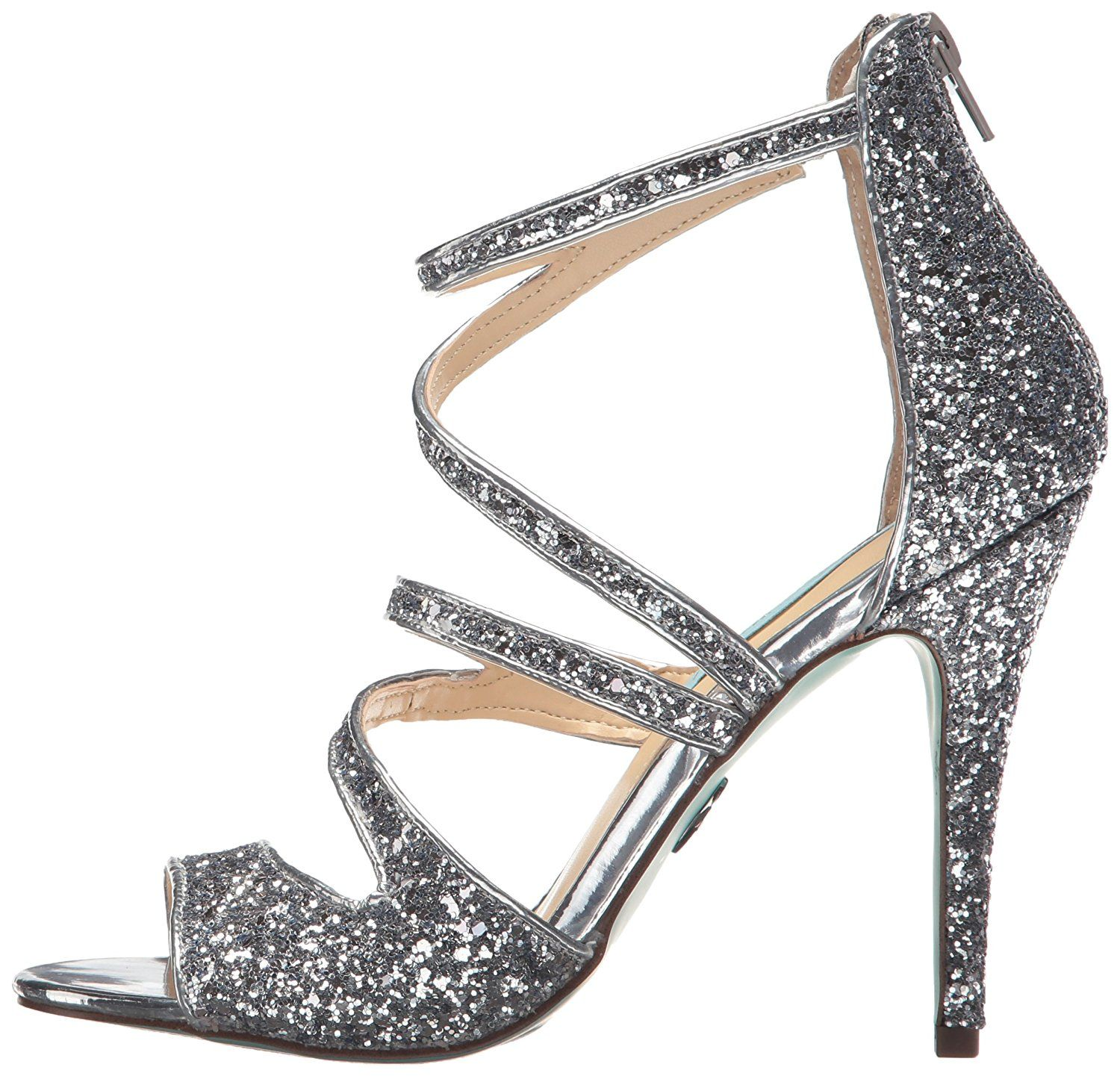 af1e77758829 Blue by Betsey Johnson Women's SB-Izzy Heeled Sandal -- Click image to  review