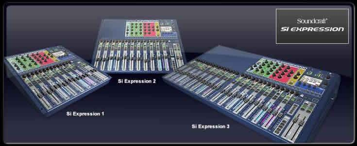 Soundcraft Si Expression 1 Excellent Flexible Mixer With Total Midi Scene Recall 2500 Hard Drive Storage Storage Devices Expressions
