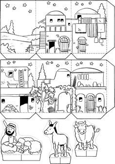free stories videos activities and coloring pages for children wwwfreekidstoriesorg sunday school pinterest christmas christmas nativity and