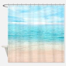 Beautiful Beach Shower Curtain For