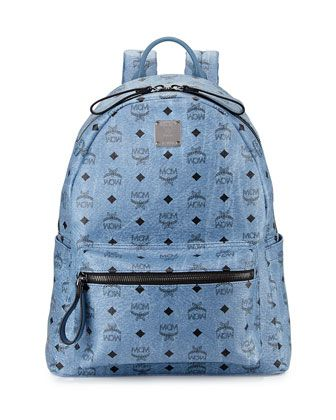 dd50e74f7a9a3 Stark No Stud Medium Backpack Denim