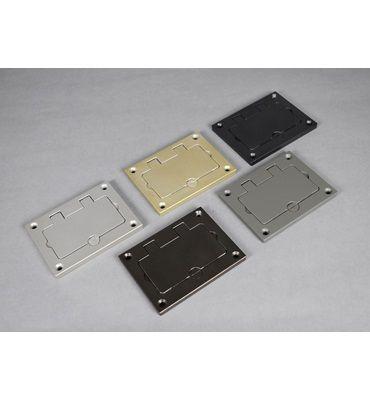 Powder Coated Aluminum Rectangular Cover Plate 828gfitcal