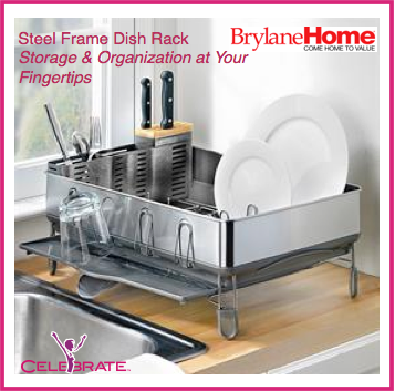 Steel Storage Dish Rack