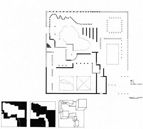 PATRICIA LIU SPACE PATH (STUDENT WORK), 1983 DRAWINGS Plan