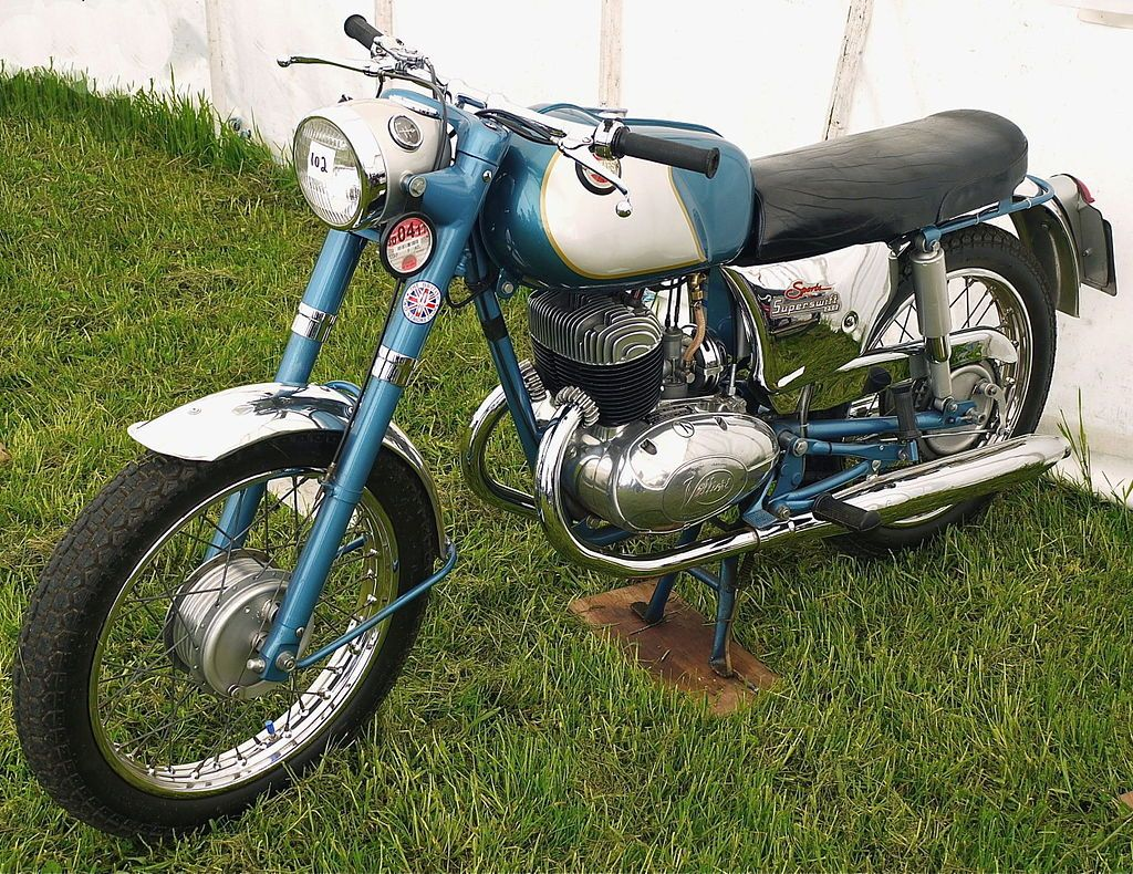 1964 James Superswift Sports 250cc Twin Cylinder Villiers 4T