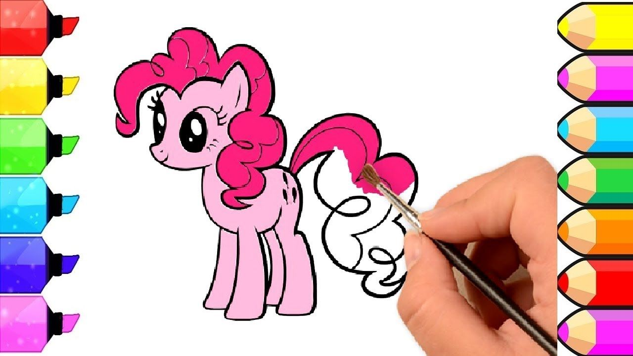 My Little Pony Drawing And Coloring For Kids L Book Channel