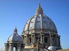 Giacomo della Porta, Cupola della Basilica di San Pietro,(1588-1590), Città del Vaticano.