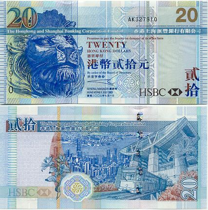 Mint Currency Foreign Set Twenty Different World Banknotes Uncirculated 20
