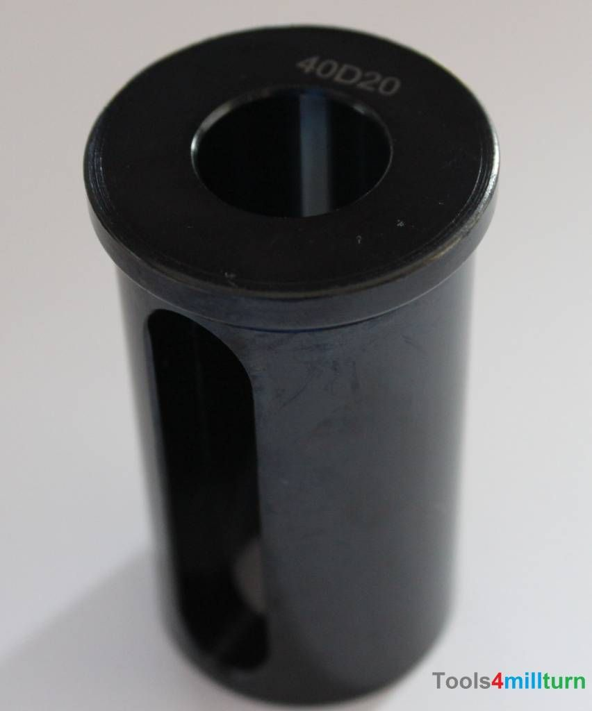 Reduzierhülse Sleeves ø40 X D20 Drehmaschine Bohrer Cnc