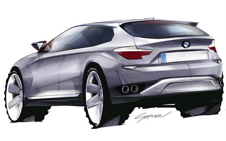 BMW-X4-Concept-Sketch | Inspirational Art | Pinterest