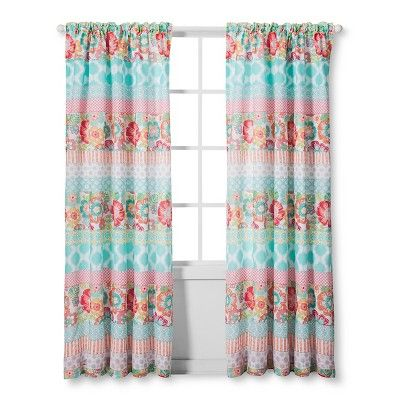 Alexis Curtain Panel 55x84 Quot Pink Sheringham Road