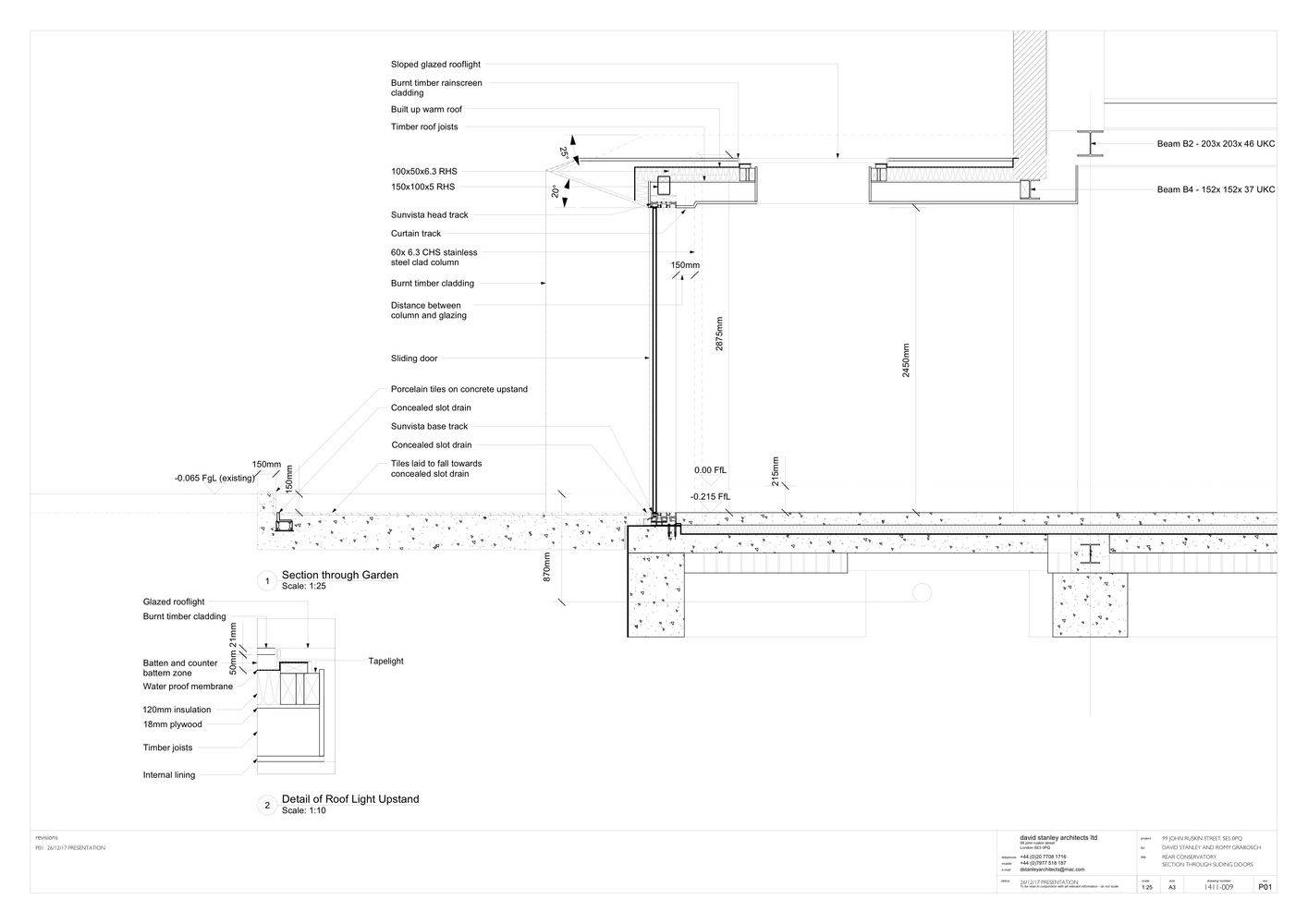 Gallery Of Acute Intervention David Stanley Architects Romy Grabosch 38 Architect David Stanley Detailed Drawings