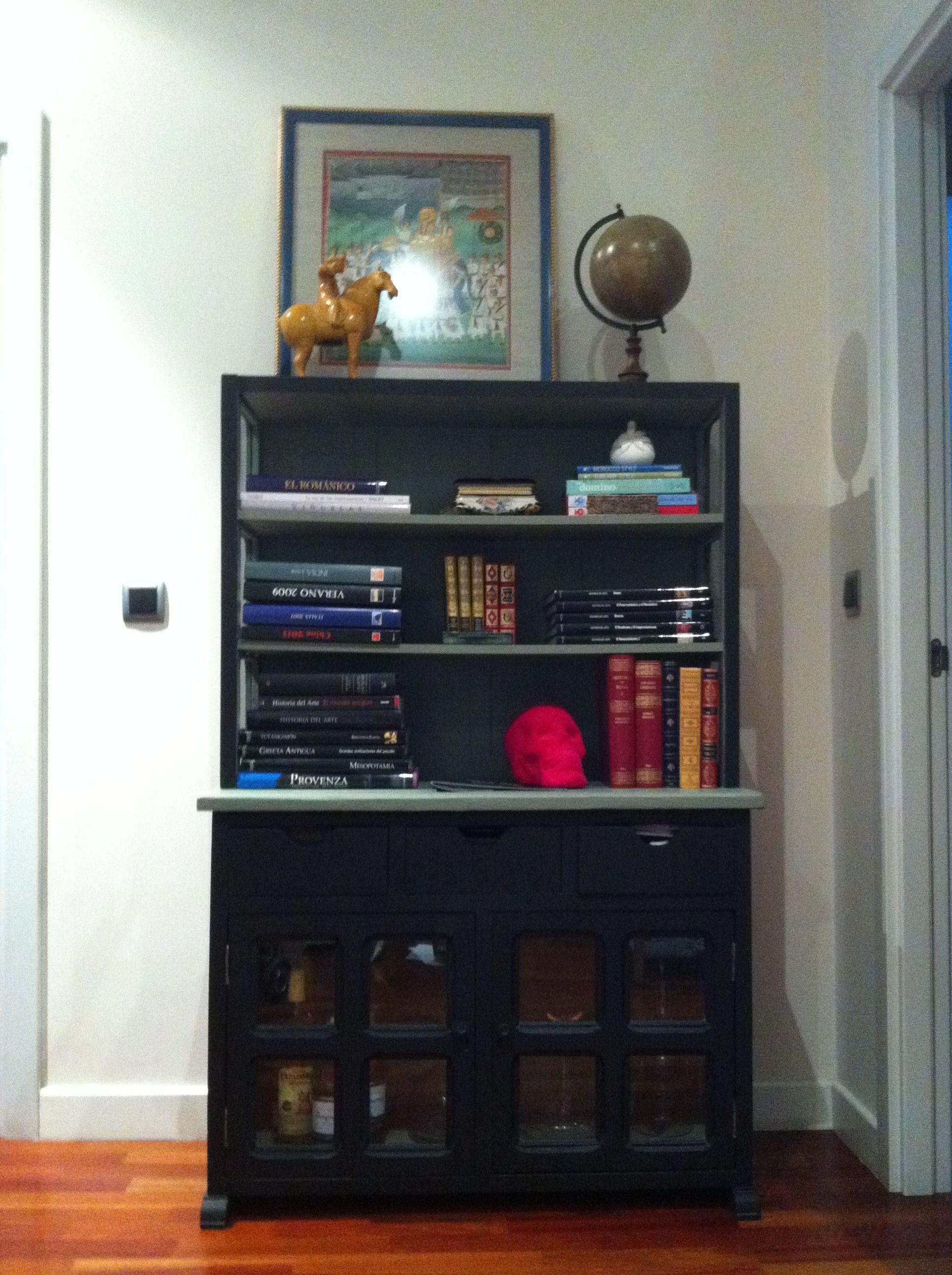 Un Antiguo Mueble Castellano Transformado En Una Preciosa Libreria  ~ Curso De Restauraciã³n De Muebles Madrid