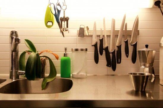 Grundtal Magnetic Knife Rack Without Screws Magnetic Knife Rack