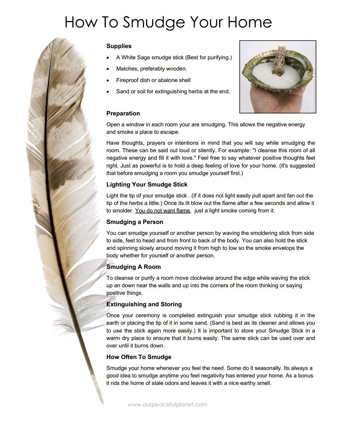 How to smudge your home Sage smudging, Spiritual
