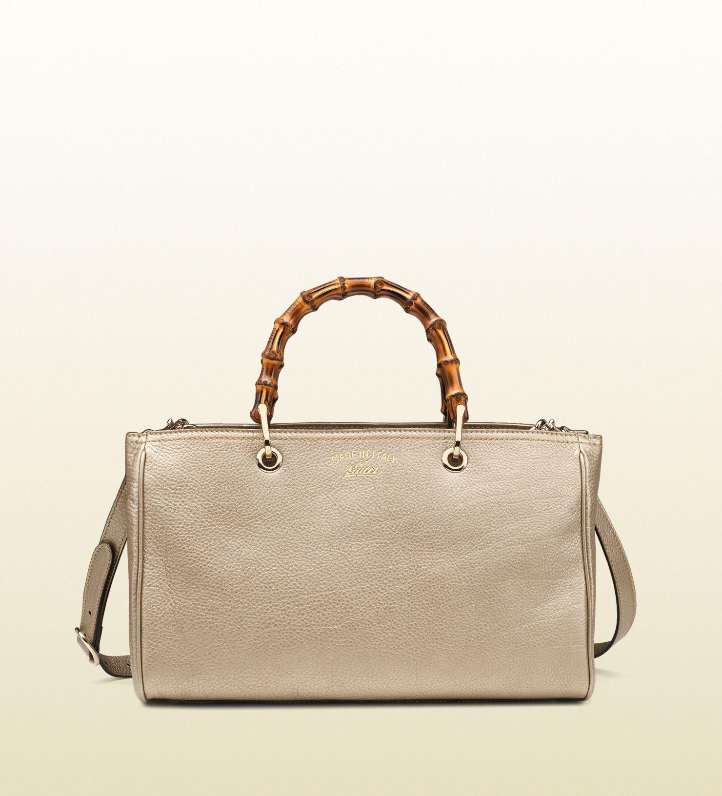 129edcdfd13 Gucci - bamboo shopper leather tote 323660AH90I9504