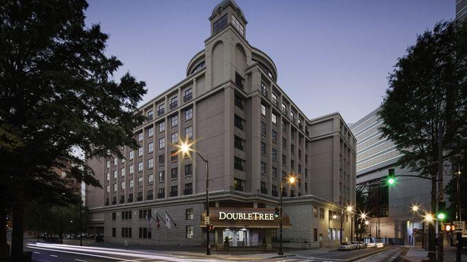 Doubletree By Hilton Hotel Atlanta Downtown Ga Exterior
