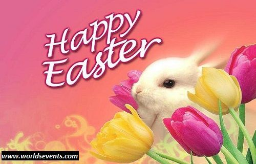 Easter Wishes For Friends Jpg 500 320 Pixels Happy Easter Wallpaper Easter Wishes Happy Easter Bunny