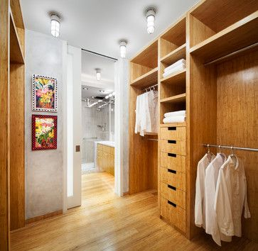 Walk In Closet With Attached Bathroom Design Ideas Pictures