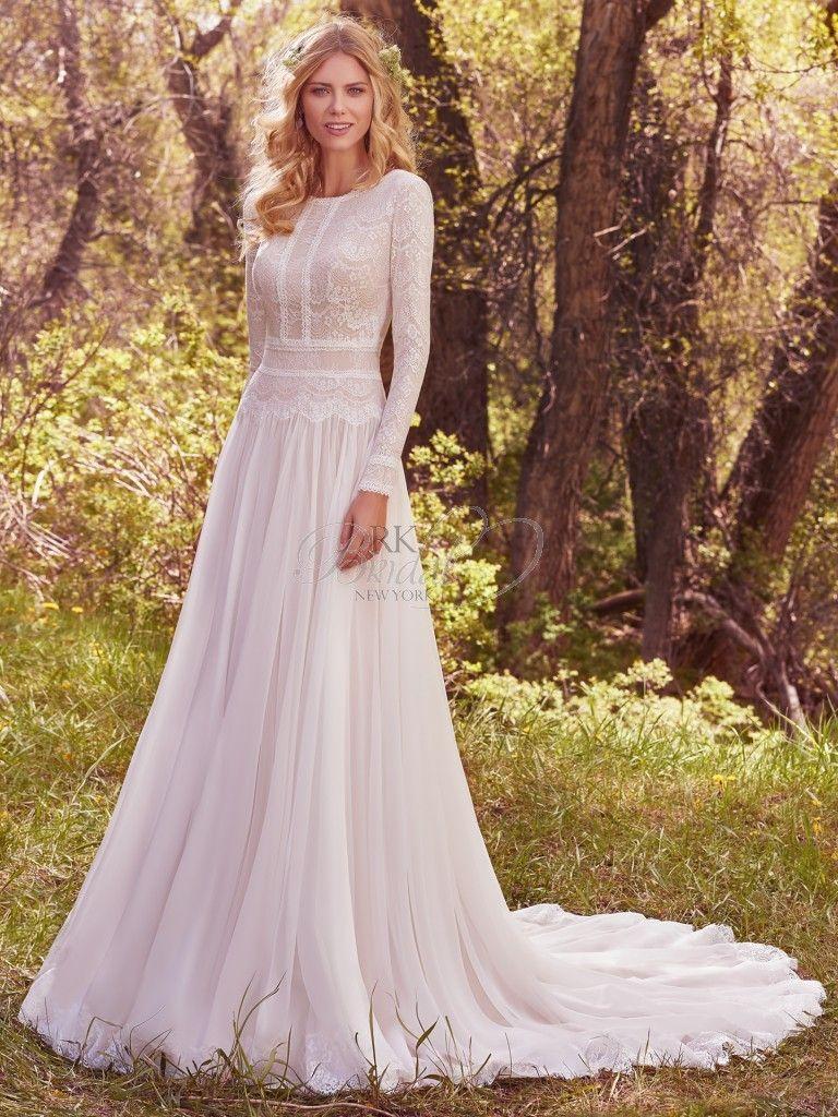 Maggie Sottero Wedding Dresses | Maggie sottero, Bateau neckline and ...