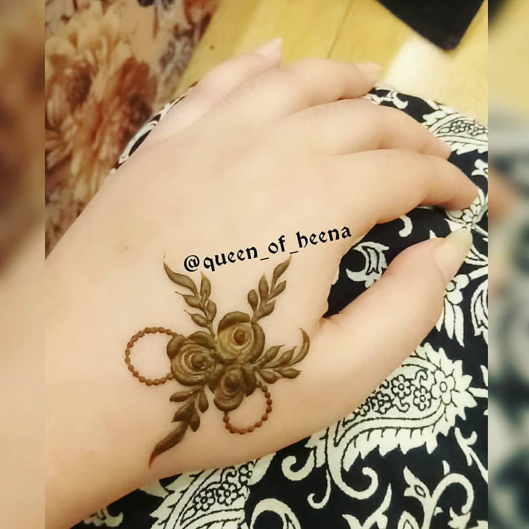Cute Simple By Queen Of Heena Henna Designs Hand Mehndi Designs For Hands Mehndi Designs
