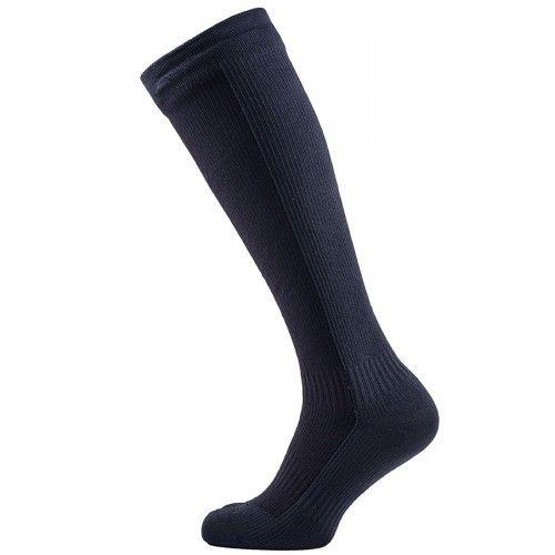 SealSkinz Mens Sealskinz Waterproof Cold Weather Knee Length Socks Black Grey