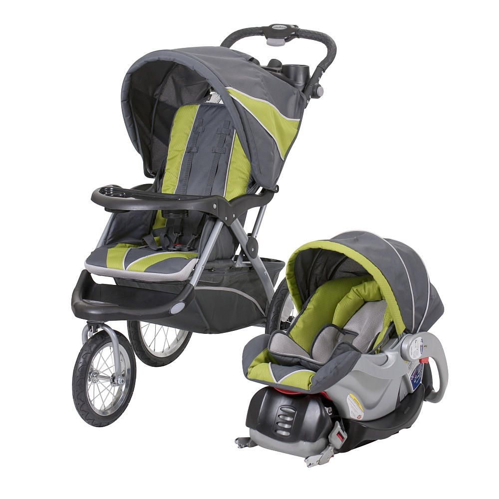 Baby carseat stroller baby trend expedition elx travel system stroller spearmint jogging stroller with car seat and base learn more by visiting the
