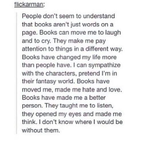 This is why I love reading.