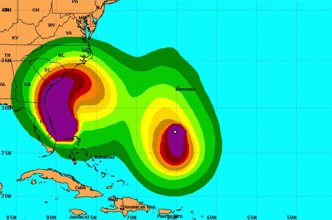 Nicole Could Make Hurricane Matthew Even More Deadly Hurricane Matthew Palm Beach Post Hurricane