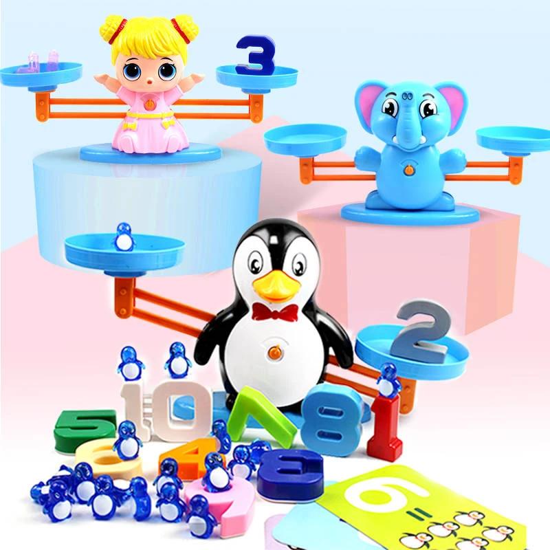 Math Balance Toy   Pan's Family in 2020   Math toys ...