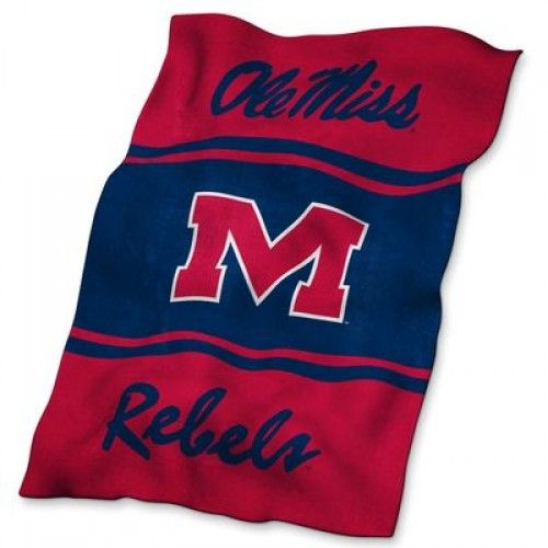 NCAA Mississippi Ultrasoft Blanket Ole Miss