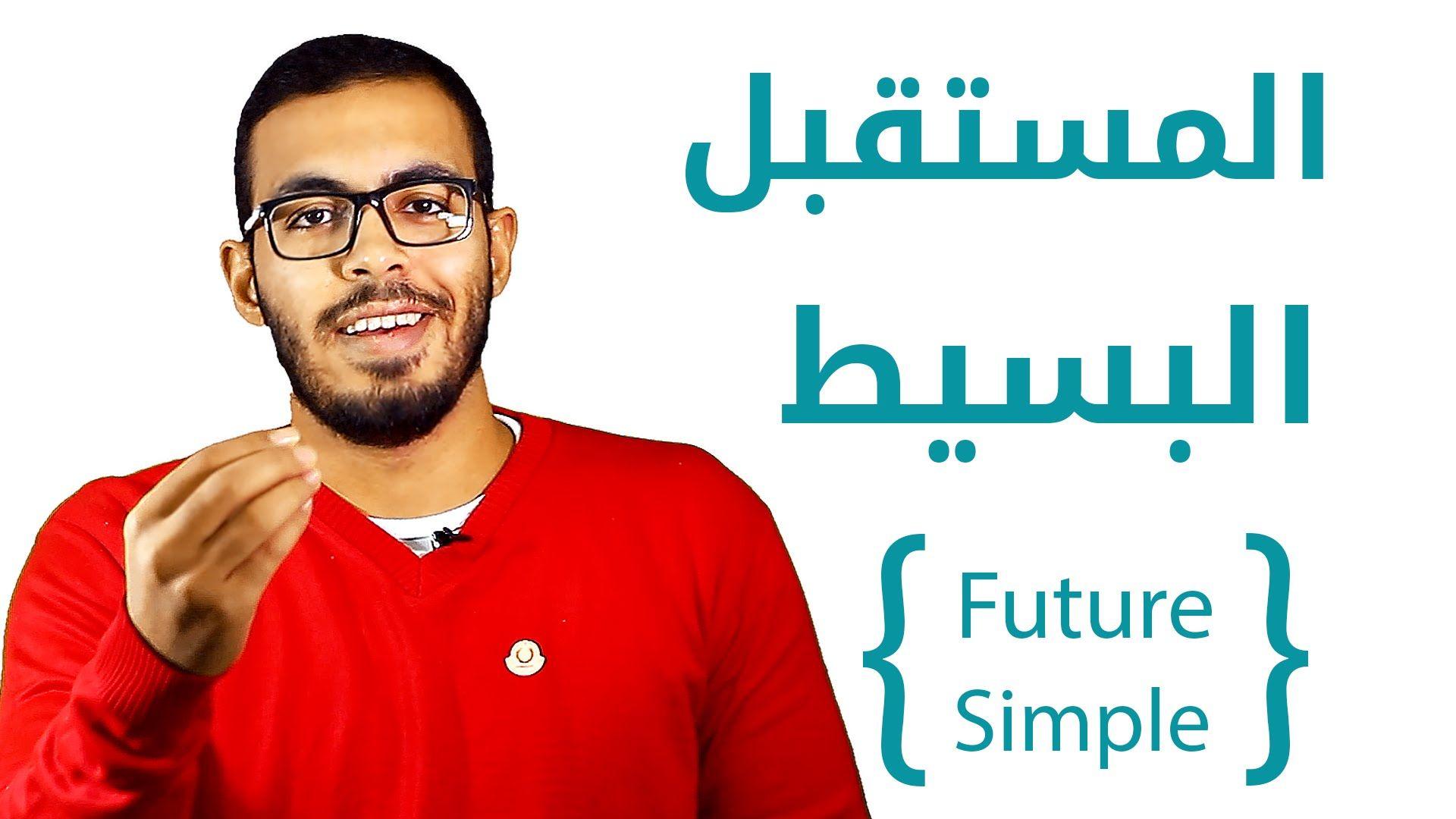 3 شرح زمن المستقبل البسيط في اللغه الانجليزيه Future Simple Tense Learn English Youtube Learning