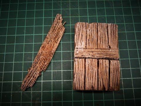 Photo of TUTORIAL 2: come fare una porta di legno in polistirene per il presepio