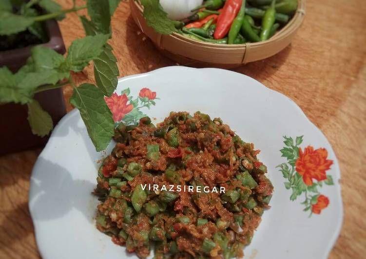 Resep Sambel Mentah Kacang Panjang Oleh Virazsiregar Resep Kacang Resep Nasi
