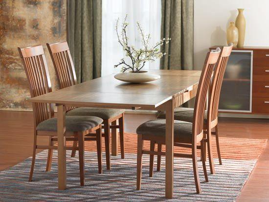 Scandinavian Designs Dinex Alfa Dining Table Cherry Dining